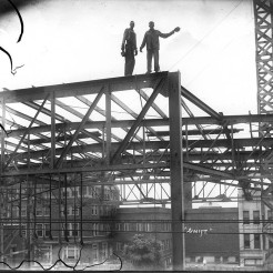 Rivoli Construction, 1920's, DMR Photo