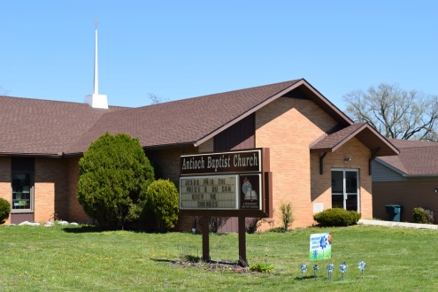 Antioch Baptist Church, modern