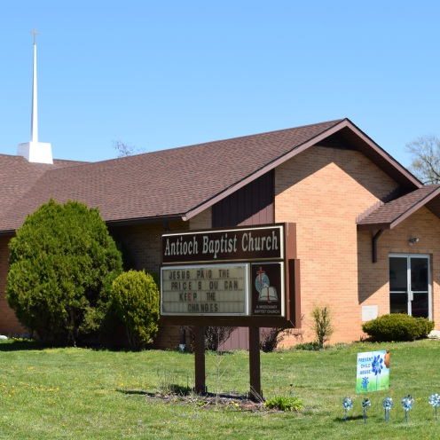 Antioch Baptist Church, modern