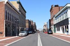 Walnut Street view, modern