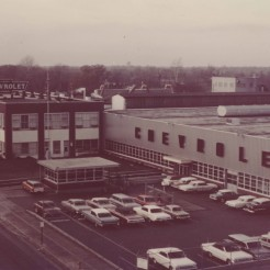 Chevy Factory, 1960s, DMR Photo