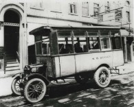 SB Denney busline, 1908, DMR Photo