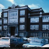 Muncie Central High School, 1960s, DMR Photo