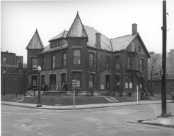 Muncie Mission, 1942, DMR Photo