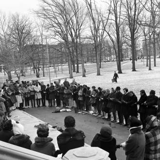 BSU March of Affirmation, 1965, DMR Photo