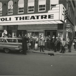 Rivoli Theatre, 1960, DMR Photo