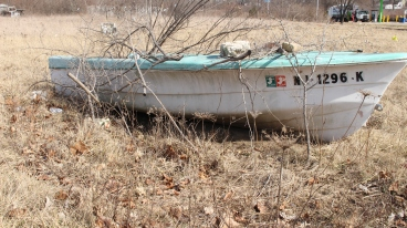 Boat in the Sanitary District