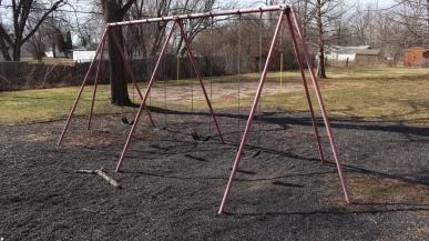 Swings in Morning Side Park