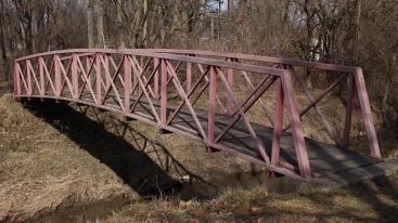 Bridge in Morning Side Park