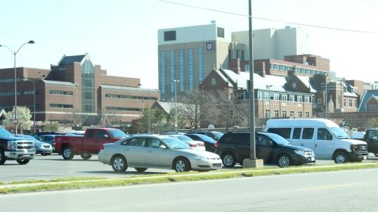 Ball Memorial Hospital, modern